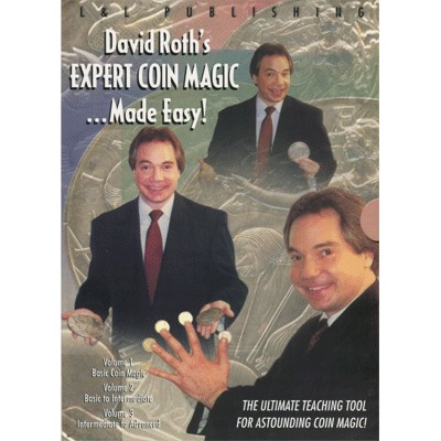 David Roth Expert Coin Magic Made Easy (3 Vol. set) video DOWNLOAD