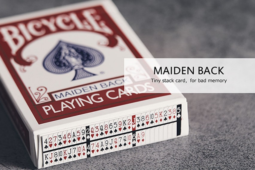Bicycle Maiden Marked