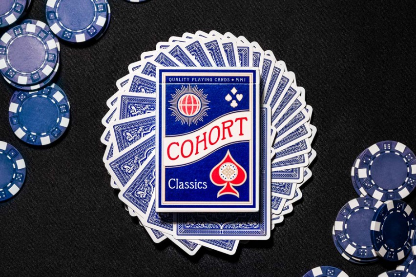 Blue Cohort Playing Cards