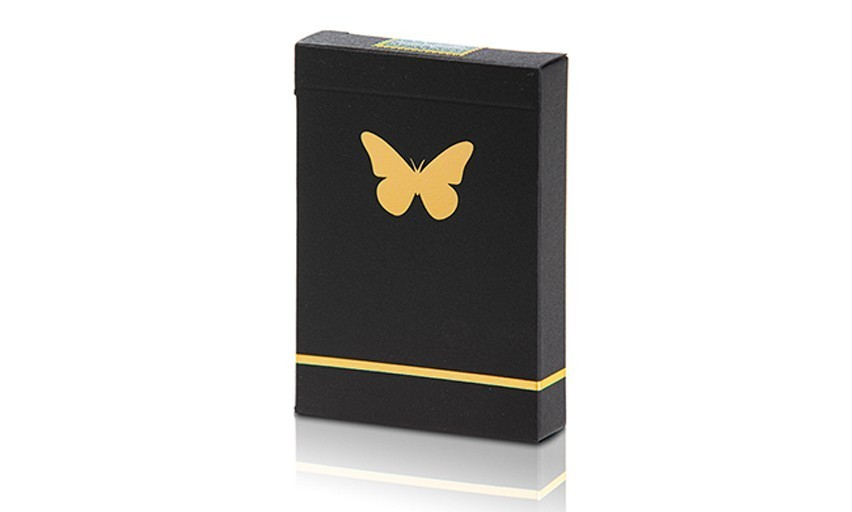Butterfly Black & Gold Unmarked