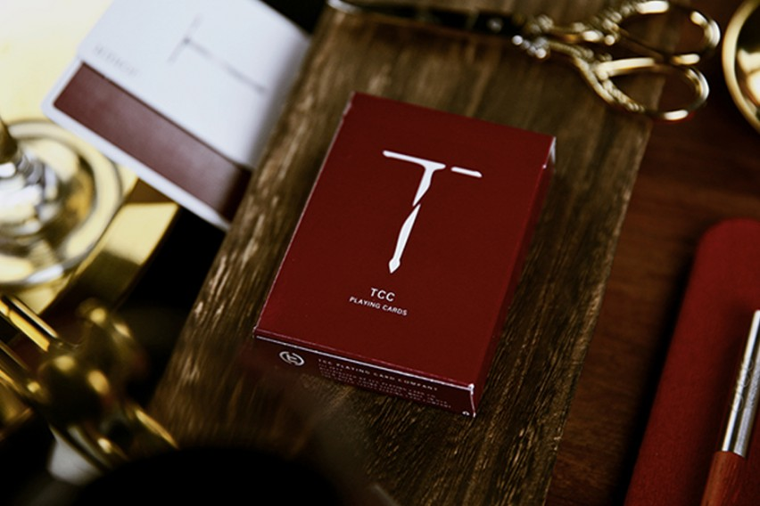 New T Playing Cards (Červené)